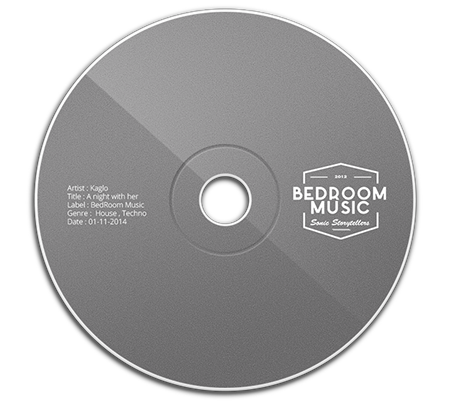 This is an image of a CD for my website bedroommusicrecords.com | Bedroom Music