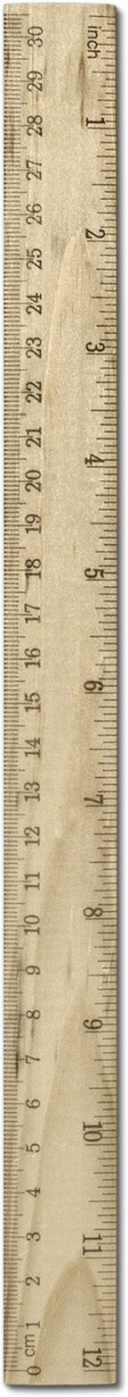 This is an image of a ruler by Raul Taciu used for my website bedroommusicrecords.com | Bedroom Music